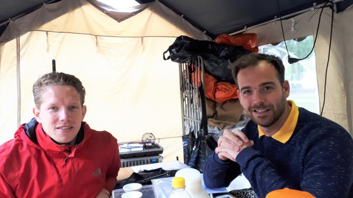Coördinatoren Ralf Schuurmans (rechts) en Sander van Helvoort