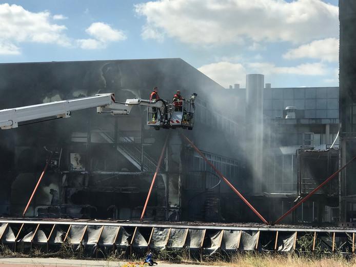 Forse schade door brand in Den Bosch.