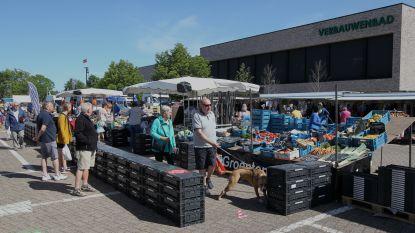 Plattegrond, jetons en eenrichtingsverkeer: eerste markt aan Sportpark Eeklo verloopt vlekkeloos