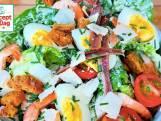 Caesar salade met gamba's
