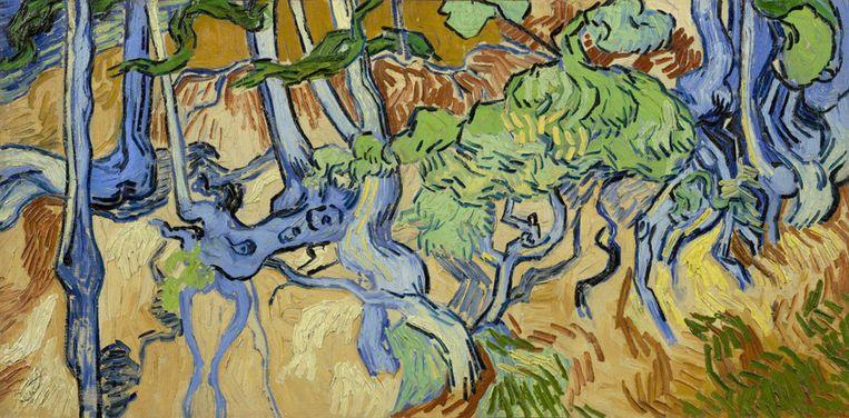 Boomwortels, 1890 Vincent van Gogh (1853 - 1890) Beeld Van Gogh Museum, Amsterdam  (Vincent van Gogh Stichting)