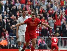 Gerrard blinkt uit in benefietduel op Anfield
