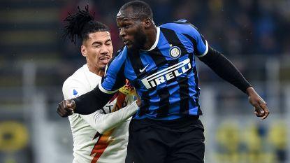 Teleurstellend Inter bijt tanden stuk op AS Roma: Smalling neutraliseert Lukaku