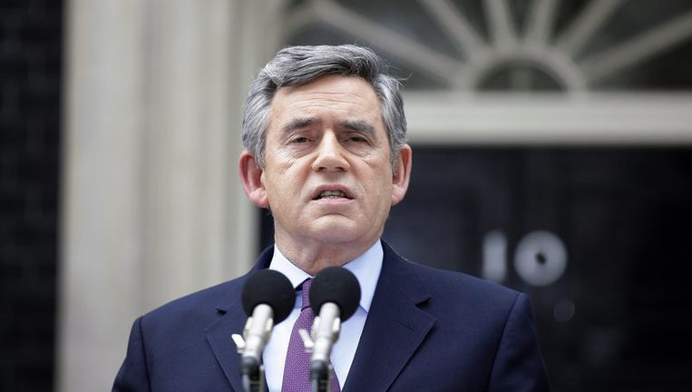Gordon Brown. Foto ANP Beeld