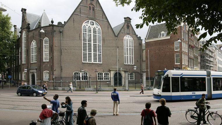 e Aula van de Amsterdamse Universiteit aan de Singel in Amsterdam. Beeld anp