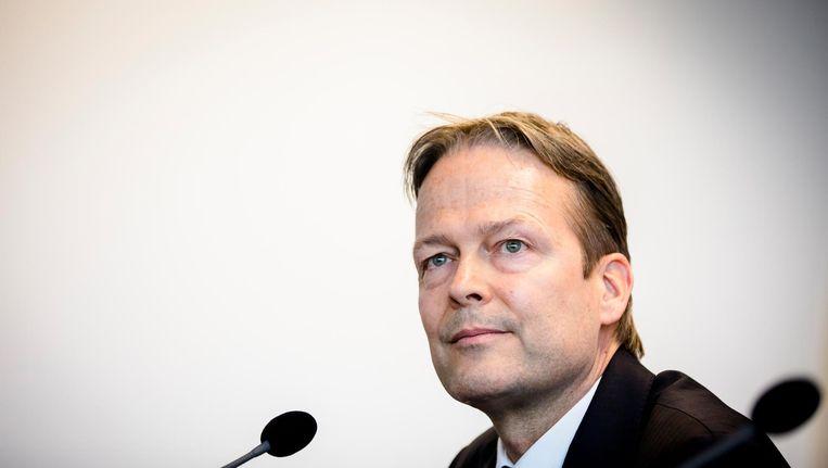 Bestuursvoorzitter Ton Büchner. Beeld anp