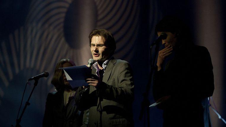 Christiaan Weijts tijdens het boekenbal van 2011 Beeld ANP
