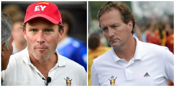 Zowel Jeroen Delmee (l, Red Lions) als Pascal Kina (r, Red Panthers) stapt op