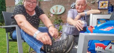 Echtpaar Bosch heeft nu samen 100 volbrachte Vierdaagsen: 'Dit was een prima jaar'
