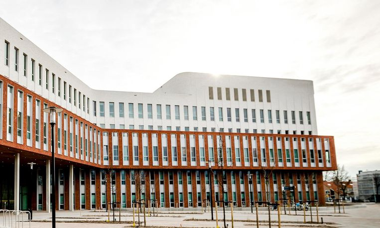 Exterieur van het Zaans Medisch Centrum in Zaandam.  Beeld anp