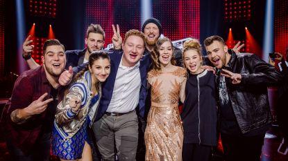 Wat een liveshow: dit zijn de acht halve finalisten van 'The Voice'