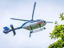 Politie zet helikopter in boven Gouda bij aanhouding