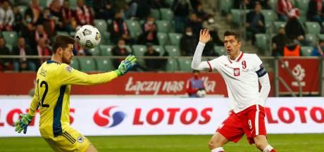 Polen dankzij twee goals Lewandowski eenvoudig langs tien Bosniërs