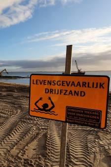 Extra zand bij Hellevoet: 'Er kunnen straks twintigduizend mensen op het strand liggen'