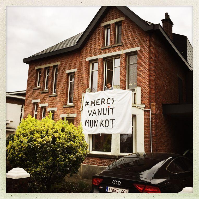 #samentegencorona #mercivanuitmijnkot