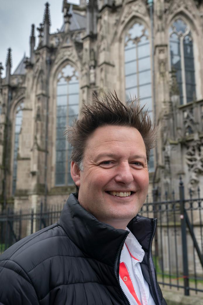 Martijn van der Zande, voor de Sint-Jan.