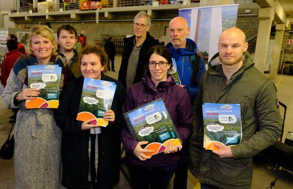 Actiegroep 'Red de Kleiputten' wil het project zoals het nu op tafel ligt een halt toeroepen.