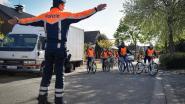 Leerlingen zetten verkeerslessen om in praktijk
