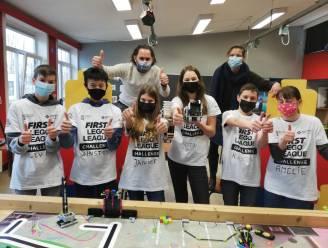 De Step en Alicebourg grote winnaars van robotwedstrijd 'FIRST LEGO League'