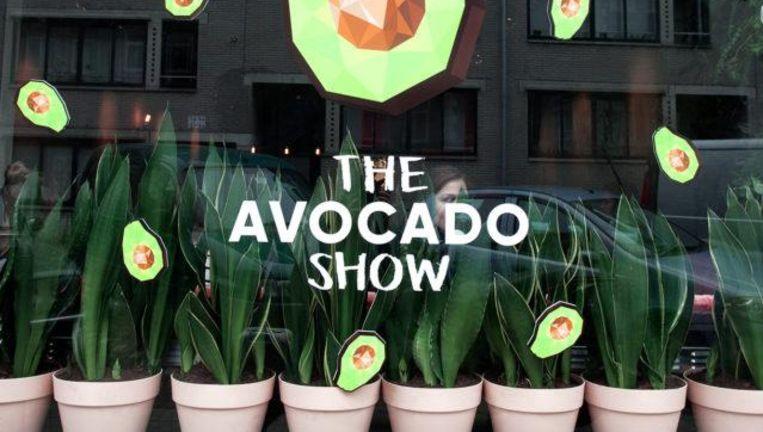 Het concept van dit restaurant: alles met avocado. Beeld null