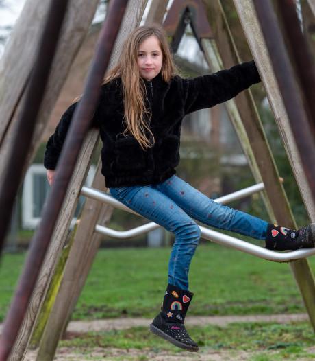 Bibi (8) uit Epe wil na twee jaar schommels terug in speeltuin