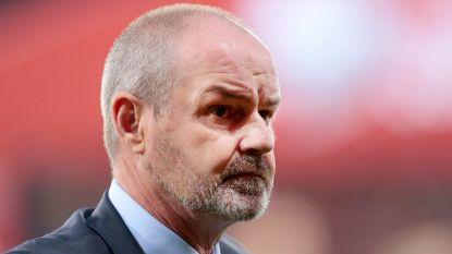 """Schots bondscoach Steve Clarke: """"We werden afgestraft op stilstaande fases"""""""
