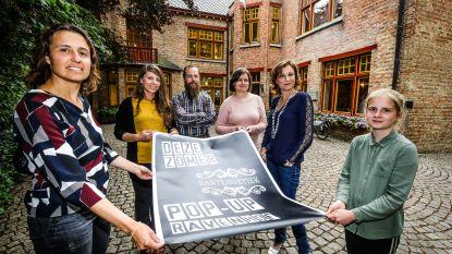 The Message Ginbar keert terug als pop-up naar Ravenhofpark