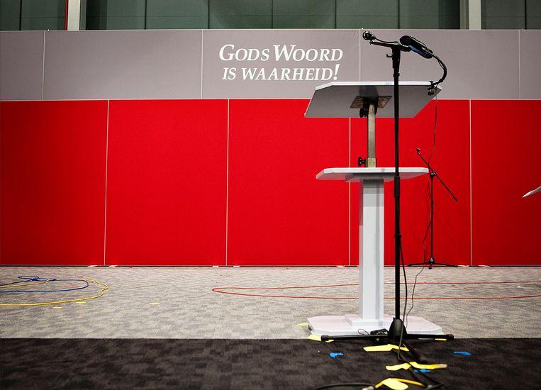 Het jaarlijkse districtscongres van Jehovah's Getuigen in Utrecht in 2013.  Beeld Maarten Hartman