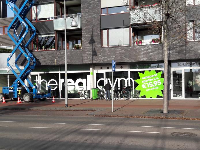 The Real Gym zat tot eind 2018 in het pand.