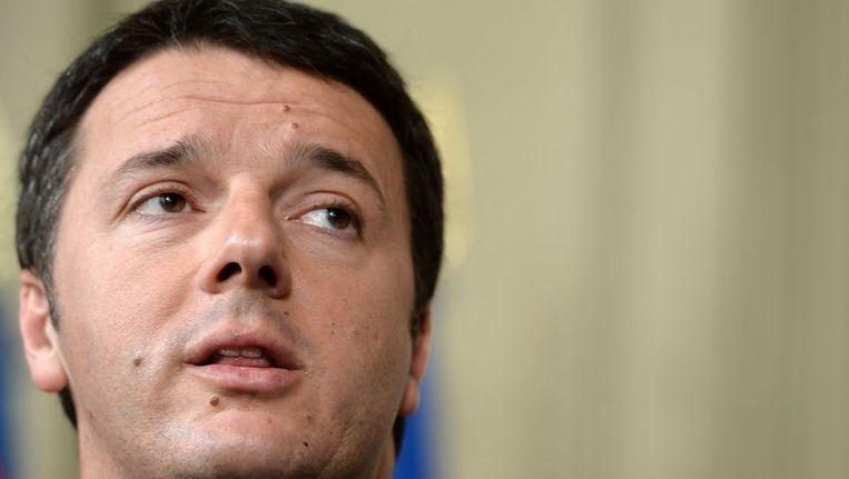 Italiaanse formateur Matteo Renzi. Beeld afp