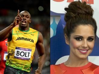 Usain Bolt heeft oogje op Cheryl Cole