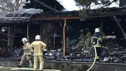 Heropflakkering in uitgebrande villa