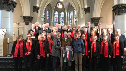 Jan Linclau stopt na 75 jaar als kerkzanger