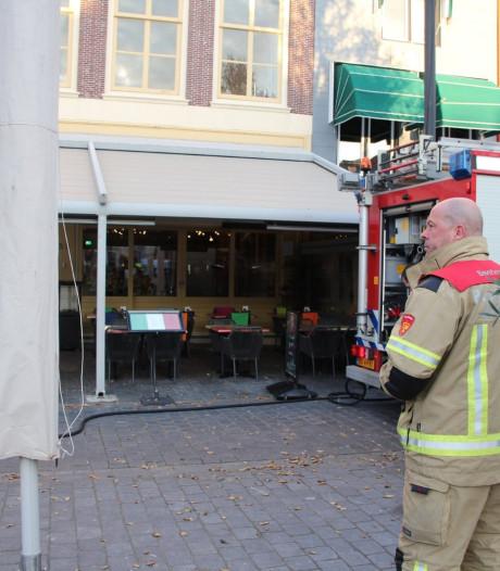 Brandje in pizzaoven restaurant Bellamypark Vlissingen