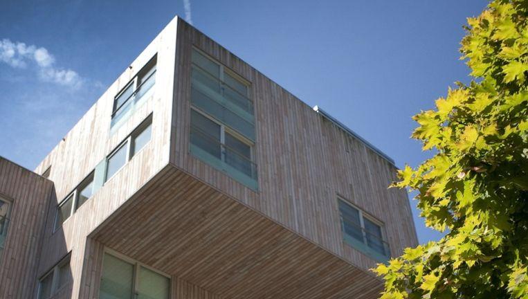 De ontwerpers van Tangram Architecten en de ontwikkelaar en bouwer, Hillen & Roosen, hadden niet op de prijs gerekend. Foto Floris Lok Beeld