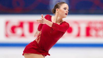 Loena Hendrickx eindigt als twaalfde op WK kunstschaatsen, Zagitova pakt titel