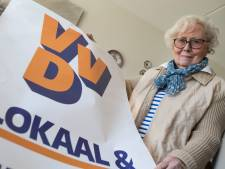 Minie (92) uit Brummen is misschien wel de oudste lijstduwer van het land