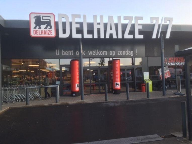 De vernieuwde AD Delhaize in Ingelmunster.