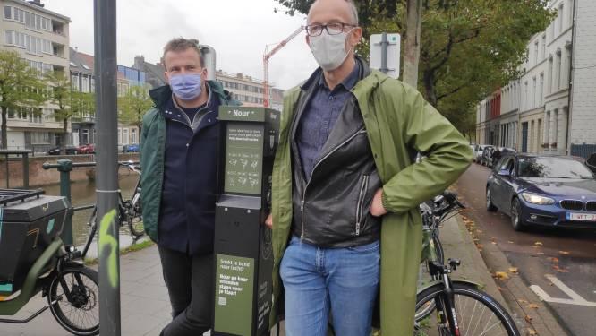 Gratis fietspompen ter beschikking van fietsers