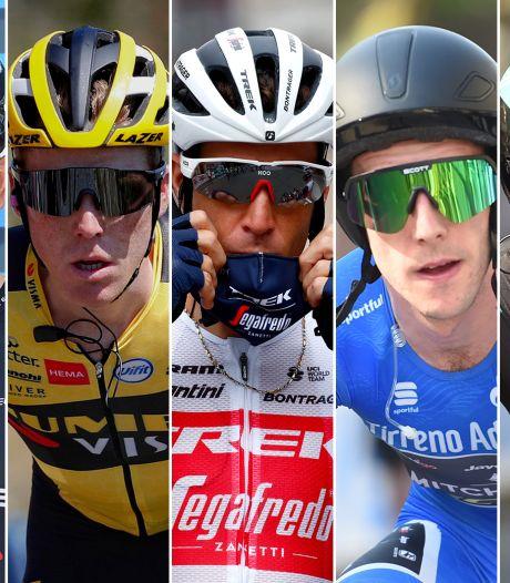 Kruijswijk strijdt in Giro d'Italia tegen Britten in vorm