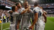Ronaldo kroont zich met hattrick tot koning van Madrid, Carrasco en Atlético hebben mirakel nodig