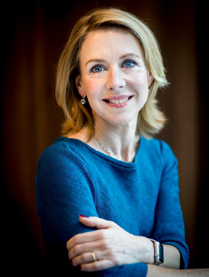 Staatssecretaris Stientje van Veldhoven van Infrastructuur en Waterstaat.
