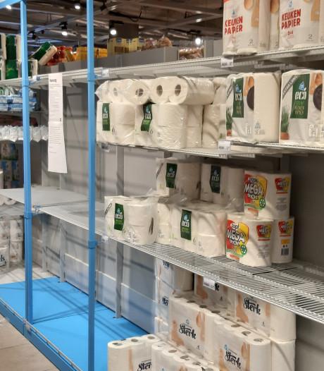 Ik bezoek voor de zekerheid de impopulaire supermarkten