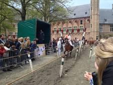 Eerste ringen gestoken op Abdijplein Middelburg