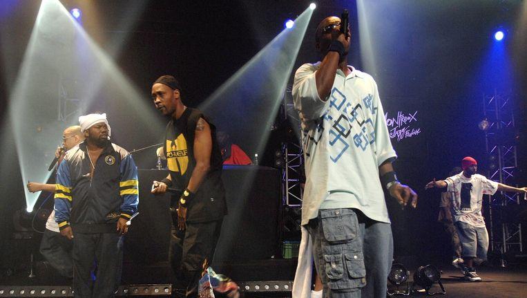 Wu-Tang Clan in 2007 Beeld AP