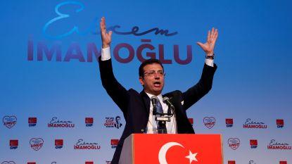 Oppositiekandidaat Imamoglu voorop in peilingen herhaling verkiezingen Istanboel