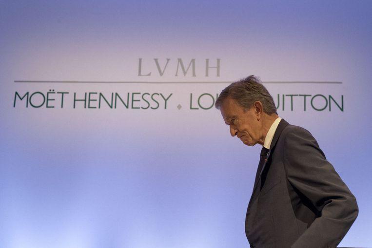 LVMH-CEO Bernard Arnault.