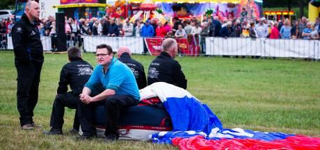 Tiende editie Höfteballooning afgelast door weersomstandigheden