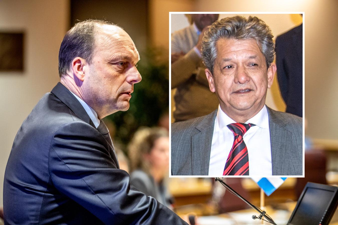 Burgemeester Peter Snijders heeft aangifte gedaan tegen Jeffrey Satoor de Rootas.