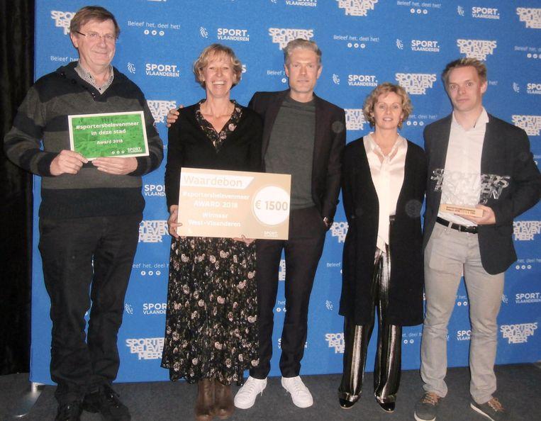 Oudenburg wint sportprijs